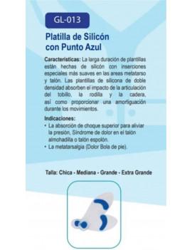 PLANTILLAS DE GEL COMPLETAS CON ARCO, TALONERA Y BOTÓN