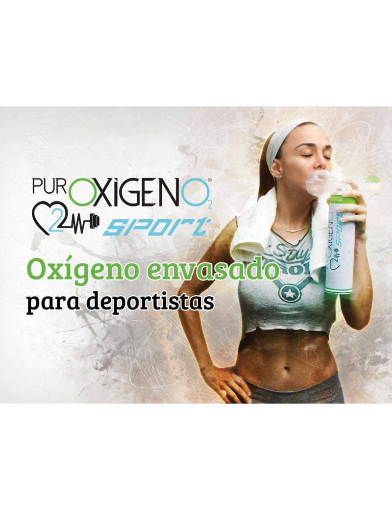 PUROXIGENO SPORT OXIGENO ENVASADO