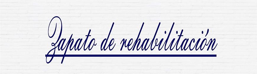 ZAPATO DE REHABILITACIÓN