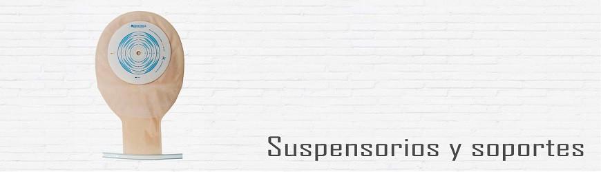 SUSPENSORIOS Y SOPORTES PARA HERNÍA Y COLOSTOMÍA