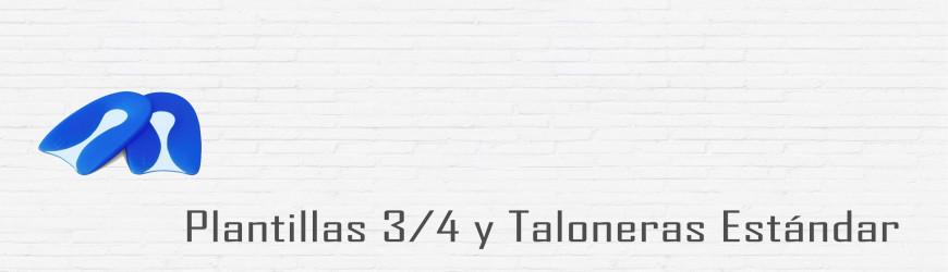PLANTILLAS 3/4 Y TALONERAS ESTÁNDAR